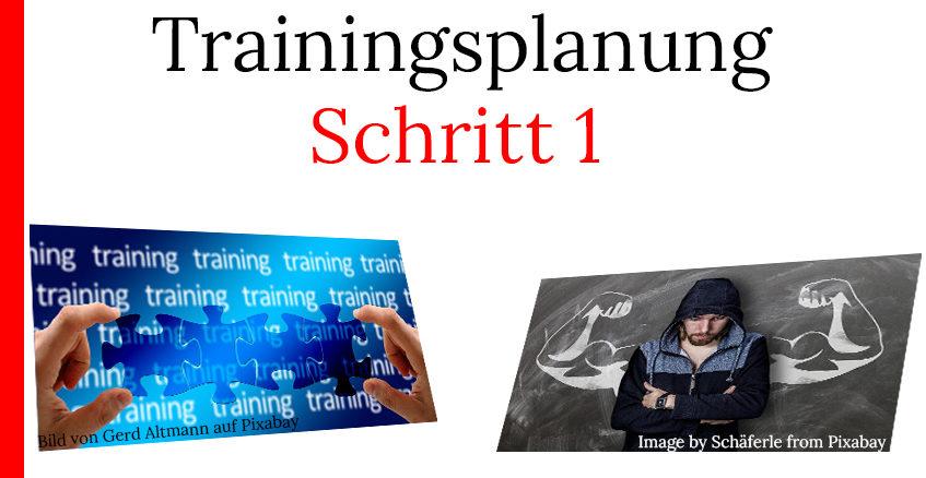 Trainingsplan erstellen erste Schritte