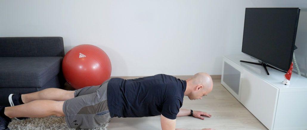 Planke Übung